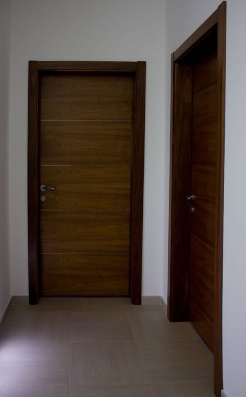 Flush type door_solid core_