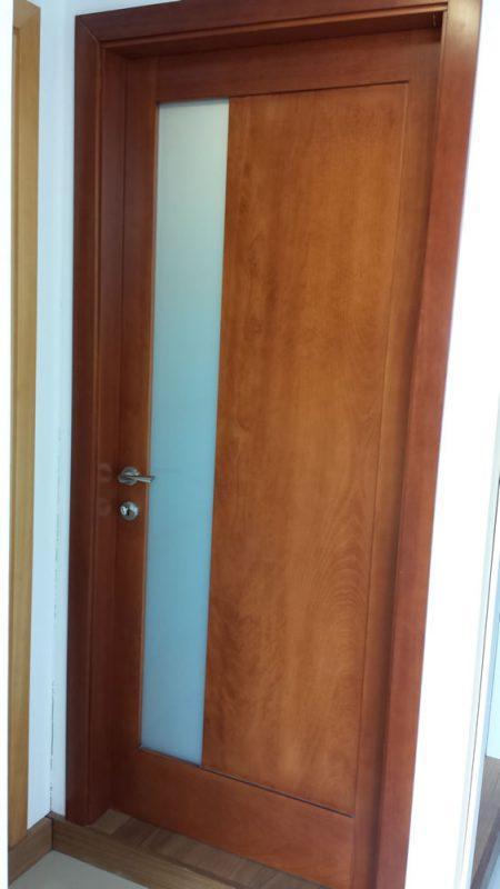 Mod. BERYL_Full solid paneled door